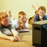 Компьютер и телевизор + дети и подростки